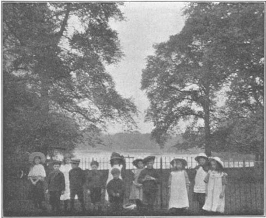 Children at the Regent's Park Open-Air School