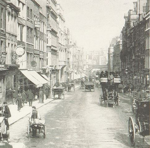 Fleet Street in 1898
