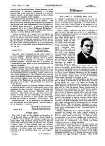 Obituary BMJ